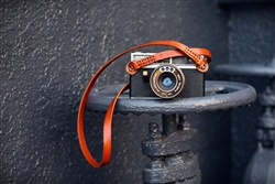 iMo Simply Brown Leather Strap for film camera/ Mirrorless camera