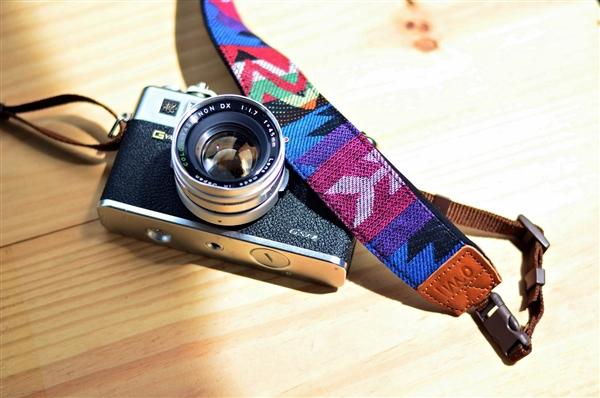 Blue Mountain Camera Strap - iMO Camera Strap