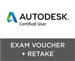 Autodesk Certified User Exam Voucher with Retake