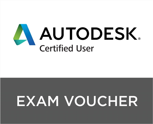 Autodesk Certified User Exam Voucher