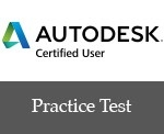 GMetrix Practice Test for Autodesk Certified User - Single Title