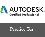 GMetrix Practice Test for Autodesk Certified Professional - Single Title