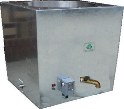 Beeswax Liquefier Heated Melting Tank 1000 with 2 Valves for Easy Separation is the Beekeeping Industry's Fastest, Even Heating, Energy Efficient, Digitally Controlled 1000lb Beeswax Liquefier and Heated Melting Tank For Beeswax Candling