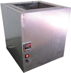 Fast, Energy efficient  Large chamber candle carving dipping tank.