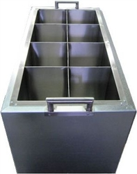 Fast, Energy efficient  8 chamber candle carving dipping tank.