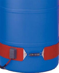 Plastic drum pail heaters bands.