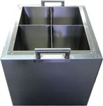 Environmentally friendly 4 chamber dipping tank.