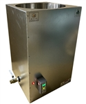 Honey Bottler & Beeswax Melter 500 is the BeeKeeping Industry's Fastest, Even Heating, Energy Efficient, Digitally Controlled 500lb Beeswax Melter & Honey Bottler Storage Tank