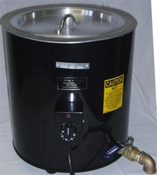 PG40 Gel Candle Melting Tank for melting gels and gel candle making.