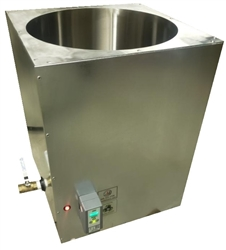 Primo 150 lb Melter: Eco-Friendly Melting Tank is the Industry's Fastest, Even Heating, Energy Efficient, Digitally Controlled 150lb (68kg) Modified Direct Heat Melter