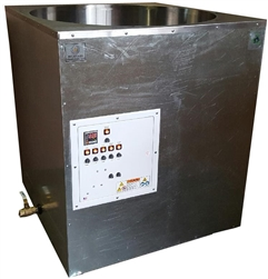 Primo 750 lb Melter: Eco-Friendly Melting Tank is the Industry's Fastest, Even Heating, Energy Efficient, Digitally Controlled 750lb (340kg) Modified Direct Heat Melter