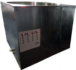 Primo 7500 lb Melter: Eco-Friendly Melting Tank is the Industry's Fastest, Even Heating, Energy Efficient, Digitally Controlled 7500 lb (3402kg) 950 Gallon (3600L) Modified Direct Heat Melter
