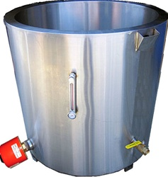 PW200 Water Jacket Melter for Professional candle wax melting and melting tank equipment for candle making.