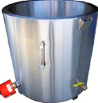 PW300 Water Jacket Melting tank is a professional water jacket melting tank for professional wax melting.