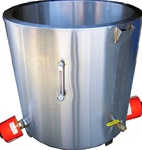 PW500 Water Jacket Meling tank for Commercial candle wax melting and candle making equipment.