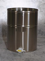 Stainless Steel Storage Tank 25 Gallons