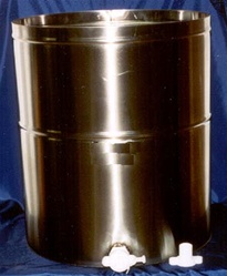 Stainless Steel Storage Tank 50 Gallons