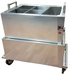 Portable Wax Hands Cart for Hands of Wax & Wax Hands with 5 Chambers
