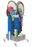 Tennis Racket Storage Cart