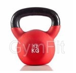 Gym-Fit 12KG Neoprene Kettlebell