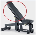 Back Pad Black PG04 Bench Technogym