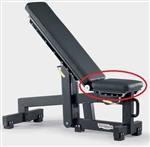 Seat Pad Black PG04 Bench Technogym