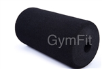 FOAM ROLLER  HIGH DENSITY  used on Strength Equipment 8 inch x 3 1/2 inch, fits 1 inch to 1 1/8 inch bar