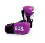 Boxing Gloves 8Oz Synthetic Pink