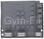 Concept2 Rower PM3 & PM4 Monitor Rubber KeyPad