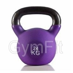 Gym-Fit 24KG Neoprene Kettlebell