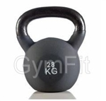Gym-Fit 28KG Neoprene Kettlebell