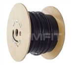 Gym Wire Cable 100m Roll. 7x19 Wire. 5mm Covered in Black Nylon to 6.5mm