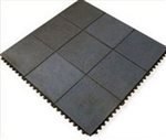 Solid Interlocking Rubber Gym Mats