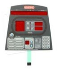 Star Trac Cross Trainer 6100 Pro 6200 Elite Overlay Keypad