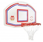 Red, White & Blue Backboard And Ring
