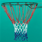 SURE SHOT 402 Standard Red White & Blue Basketball Nets