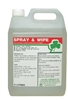 Spray & Wipe Fragranced Bactericidal Cleaner 5l
