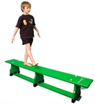 PE Bench Balance Bench Coloured 6ft 1.8mtr