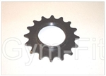 KEISER ORANGE & GREY BIKE FLYWHEEL COG 16T