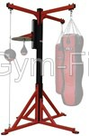 free standing 4 station boxing frame,