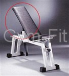 Technogym Isotonic Adjustable Bench P020 Large Pad
