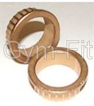 Body Solid Brass Bushings 25mm 16 mm Pair
