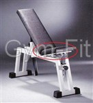 Technogym Isotonic Adjustable Bench P020 Small Pad