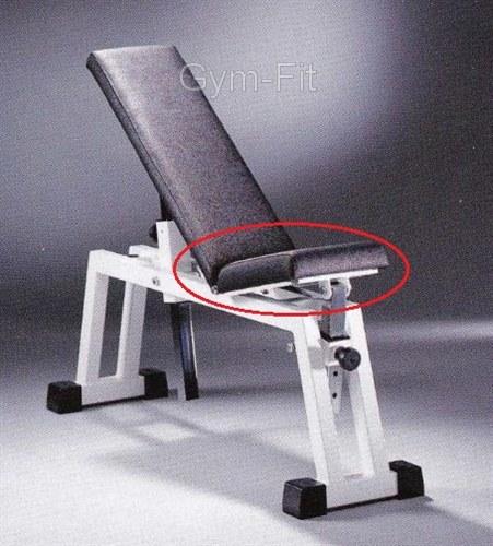 Technogym Isotonic Adjustable Bench P020 Small Pad