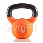 Gym-Fit 8KG Neoprene Kettlebell