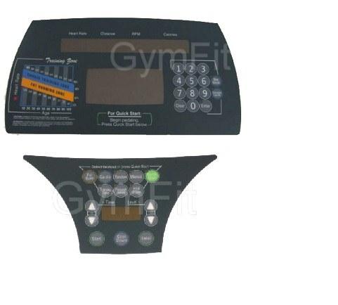 Life Fitness Lifecycle 9500HR Next Gen Overlay Keypad Kit