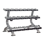 12 Pair 3 Tier Dumbell Rack