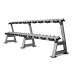 10 Pair  2 Tier Dumbell Rack