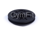 Pulley for Wire Cable 127 mm Diameter. Nylon Pulley for wire rope,