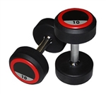Pro Rubber Dumbbell Set 1kg - 10kg 10 Pair